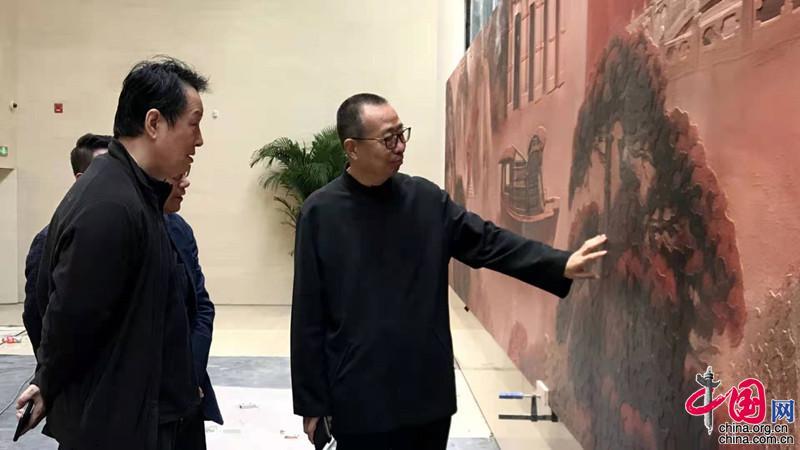 中共一大纪念馆前厅壁画创作纪实